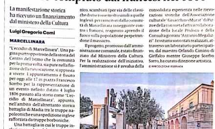 IN PIAZZA FRANCESCO SCERBO DI MARCELLINARA RIEVOCATO L'ECCIDIO COMPIUTO DAI FRANCESI NEL 1806