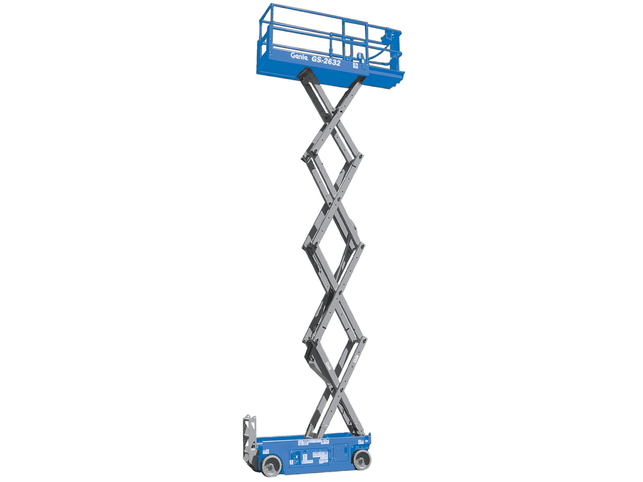 Scissor Lifts Electric Genie Gs Pjc Plant Services