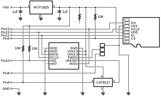 arduino sd card shield schematic