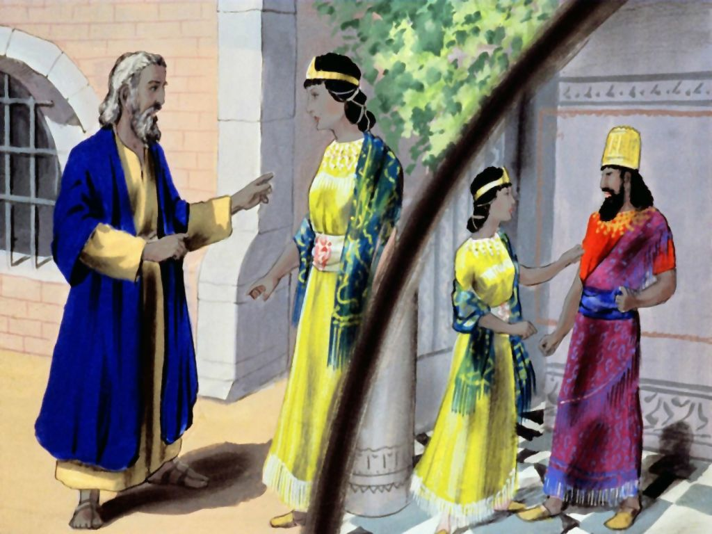 An analysis of the narrative of esther and mordecai
