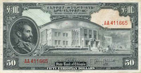Banknotes and Banking in Abyssinia and Ethiopia