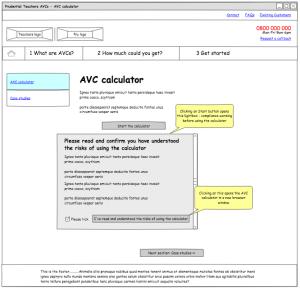 Prudential AVC template - AVC calculator interstitial (redesign 1)