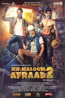 na maloom afraad 2 pakistani movie poster