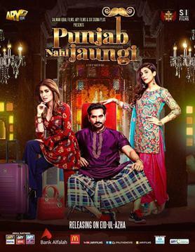 punjab nahi jaungi pakistani movie poster