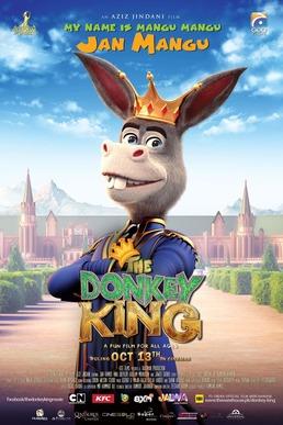 the donkey king pakistani movie poster