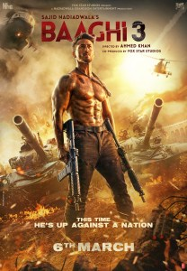 Baaghi 3 Indian movie poster