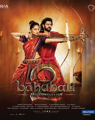 Baahubali 2 The Conclusion 2017 Indian movie poster