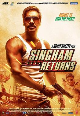 Singham returns Indian movie poster