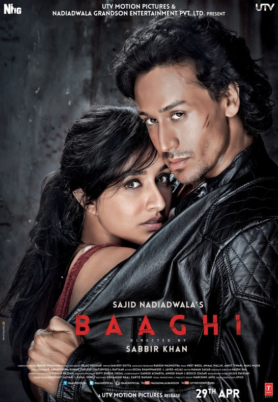 Baaghi indian Movie Poster