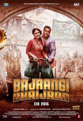 Bajrangi Bhaijaan indian Movie Poster
