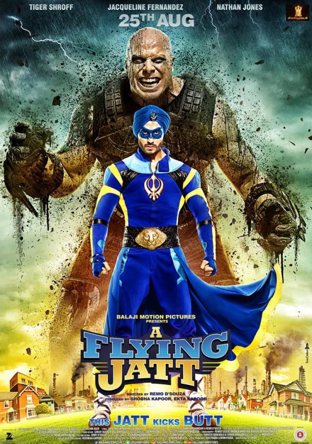 A Flying Jatt indian Movie Poster
