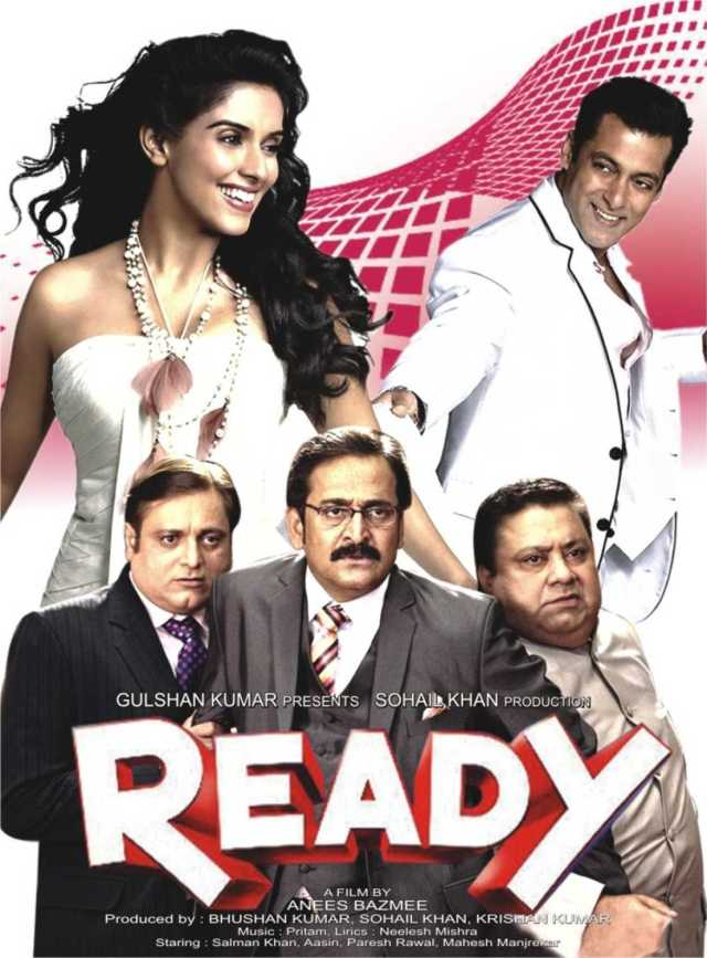 Ready indian Movie Poster
