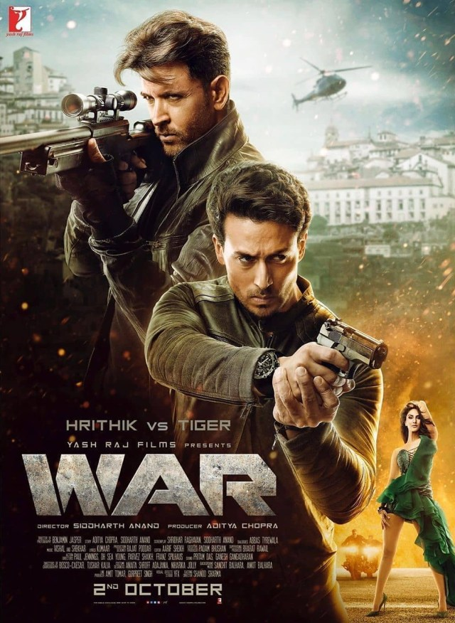 War indian Movie Poster