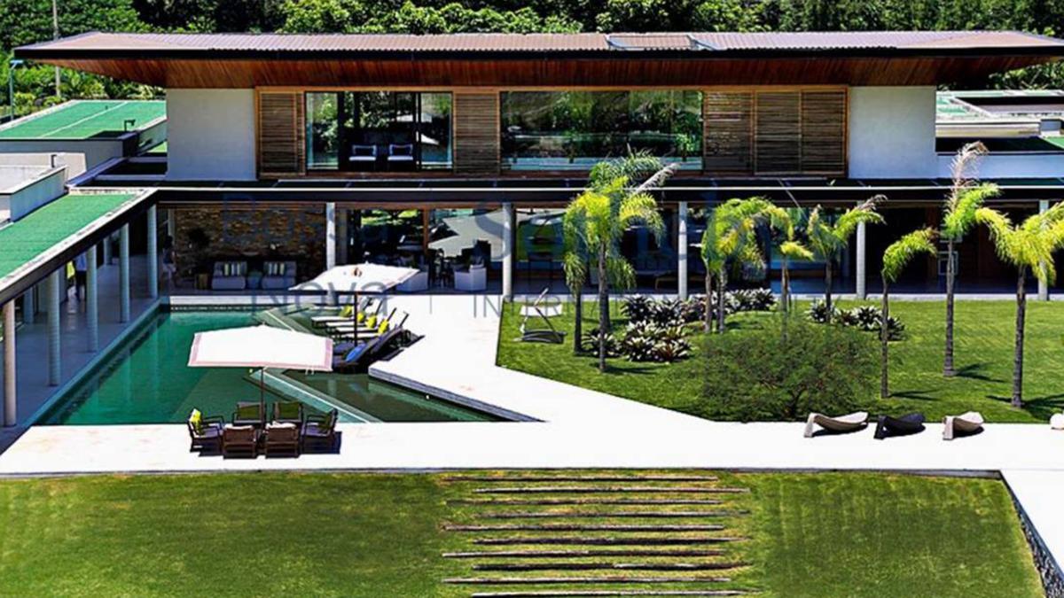 PHOTOS: découvrez la nouvelle maison de Neymar au Brésil qui fait plus de 6.000 m2 et vaut 8M€