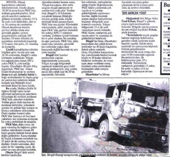 1993 Bingol Katliami