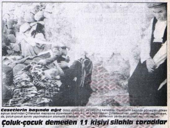 Çiftekavak Mezrası katliamı