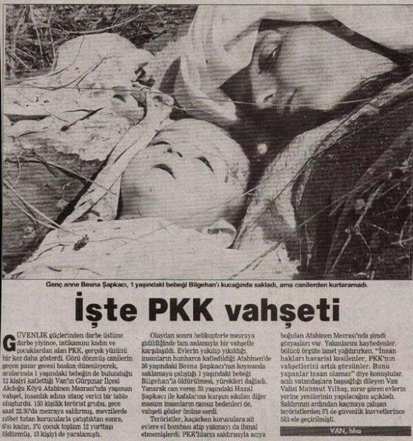 PKK'nın sivil katliamları