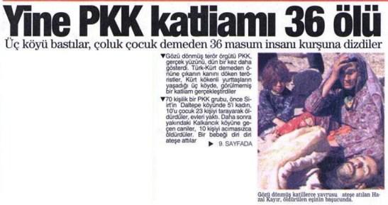 daltepe köyü 4 ekim 1993 pkk katliamı