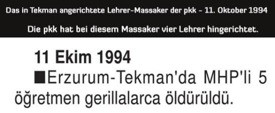 Das Lehrer-Massaker von Tekman (TEKMAN ÖĞRETMEN KATLİAMI)