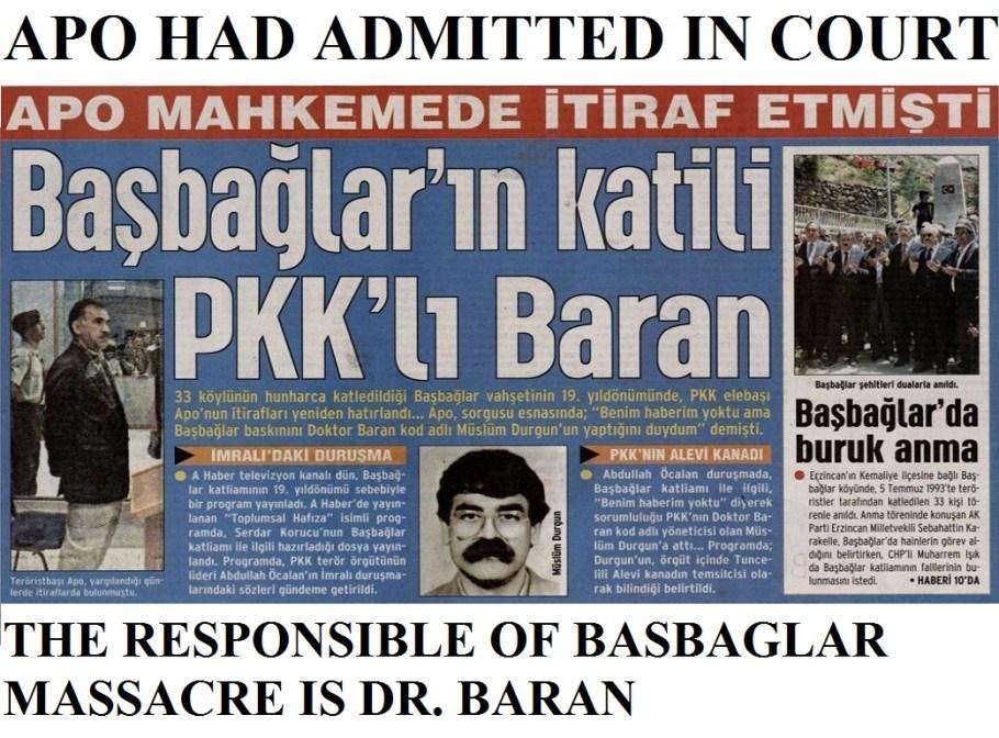 pkk massacres