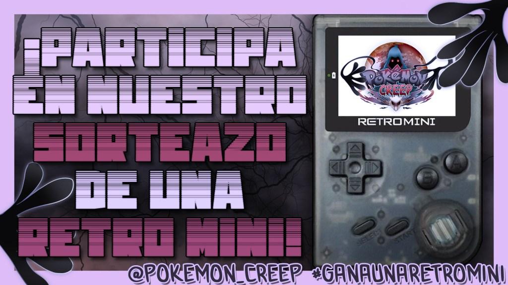 Sorteo Retro Mini Pokemon Creep