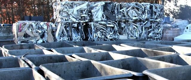 Compacted Scrap Metal