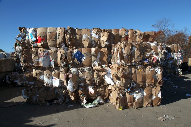 Cardboard and Paper Recycling Long Island