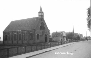 Kruiskerk -Echtenerbrug / Omstreeks 1925
