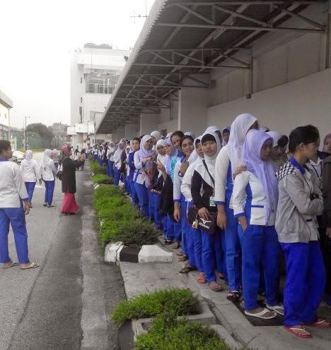 Antrian Pemilu Malaysia