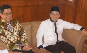 eddy rumpoko bersama presiden PKS