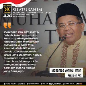 Shohibul Iman Presiden PKS