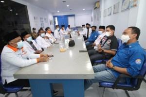Direktur Jawa Pos Radar Malang, Kurniawan Muhammad di kantor Radar Malang.