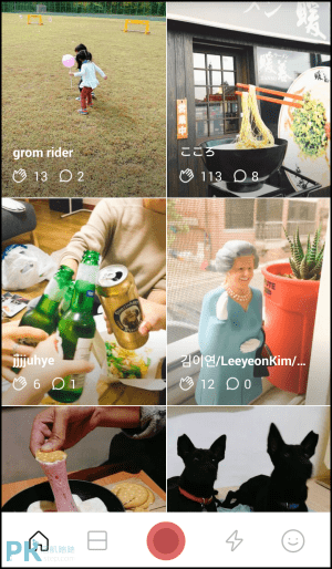 LINE MOMENTS App1