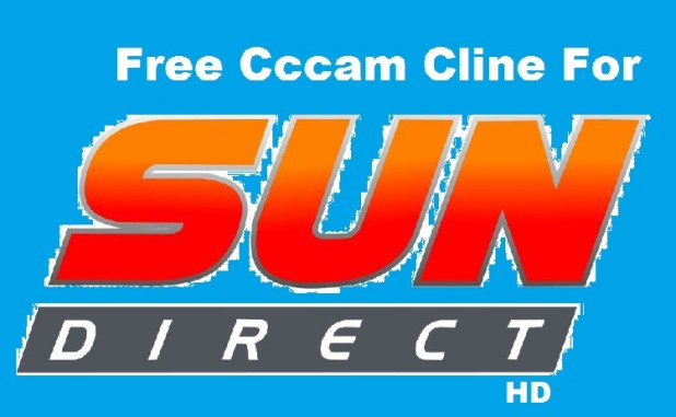 Sun direct hd cccam cline free