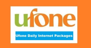 ufone daily internet package