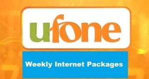 ufone weekly internet package