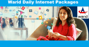 warid daily internet package