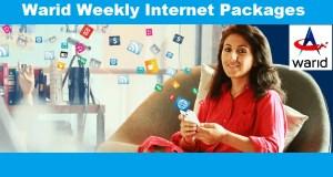 warid weekly internet package