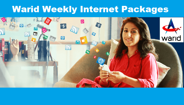 warid weekly internet package