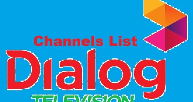 Dialog tv channel list