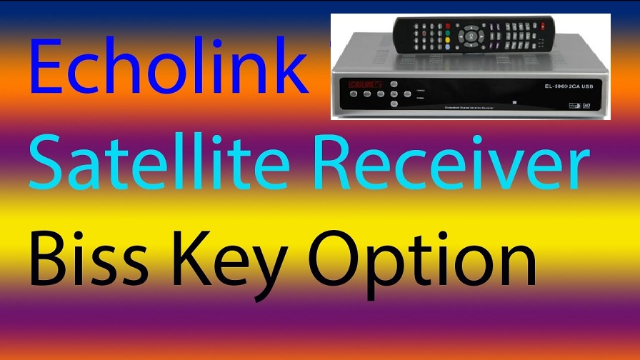 How to Add Biss Key in Echolink HD Receivers All Models