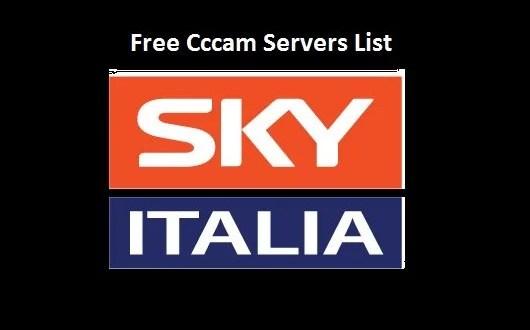 Sky italia free cccam srvers list