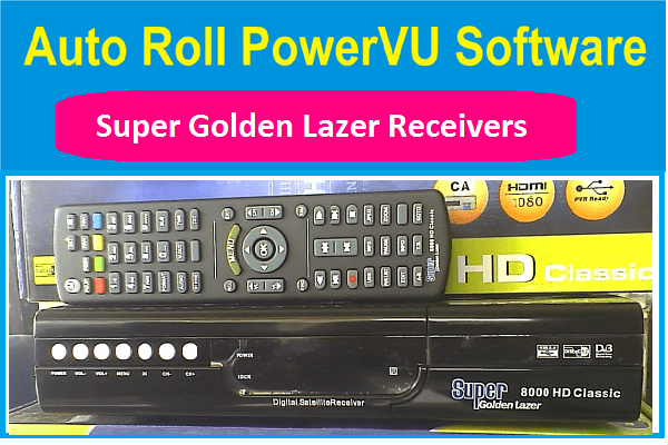 New SUPER GOLDEN LAZER PowerVU Key Software For All Models - PkTelcos