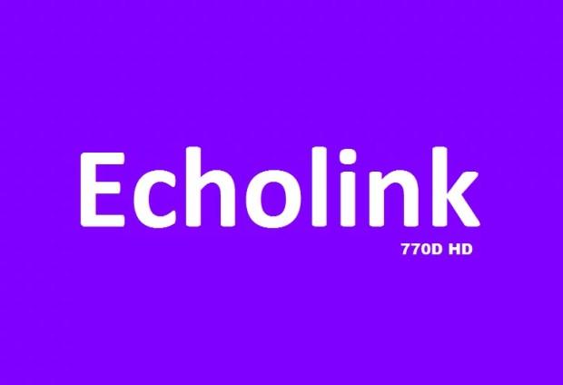 Echolink 770D HD Receiver New PowerVU Key Software