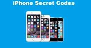 iPhone secret codes
