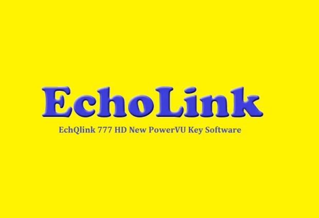 EchQlink 777 HD Receiver New PowerVU Key Software - PkTelcos