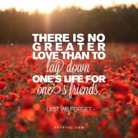 No Greater Love - Anzac Day