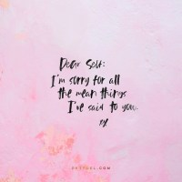 Words Give Life –Note To Self Series–Part 3