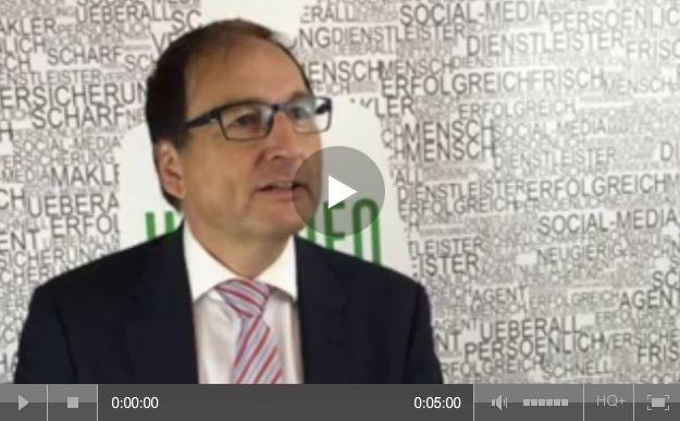 Gerd Güssler, Versicherungsberater in Freiburg und ausgewiesener PKV-Experte im Pfefferminzia-Interview auf der DKM 2015.