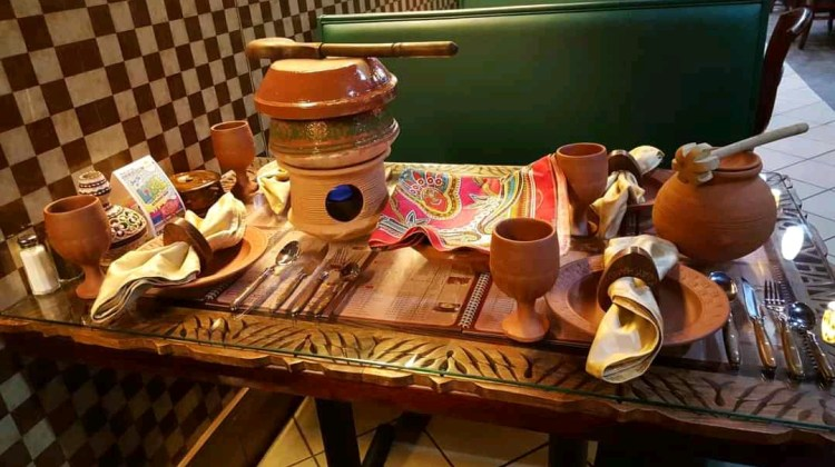 Clay pot crockery